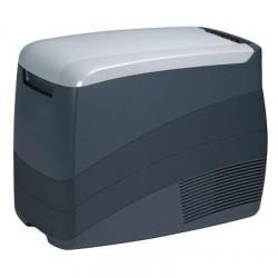 Nevera con COMPRESOR capacidad de 25 L, temperatura -18º C / + 10º C, conexion 12v/24V, con proteccion de bateria. Dimesiones Al