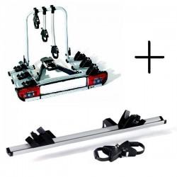 STRADA SPORT DL 4. Portabicicletas para Bola de Enganche valido para 4 Bicicletas en Sistema de Railes modelo Sport DL 3 + 1 Rai