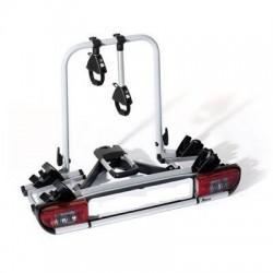 STRADA SPORT DL 2. Portabicicletas para Bola de Enganche valido para 2 Bicicletas en Sistema de Railes modelo SPORT DL 2. Constr