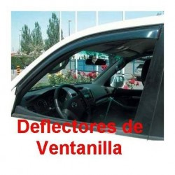 Deflectores de Ventanilla para Fiat Grande Punto, 3 Puertas de 2005 a 2009.