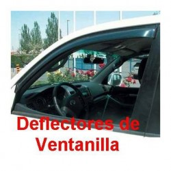Deflectores de Ventanilla para Saab 93, 5 Puertas de 2005 en adelante. Adhesivos.