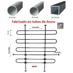 Separador de Carga Metálico para NISSAN INTERSTAR (II), de 2003 a 2010. Techo H2 y H3. Ref. MAXI616.