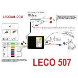 LECO507. KIT ELECTRICO 7 Polos UNIVERSAL que Desconecta los Sensores de Aparcamiento. Leer mas ...
