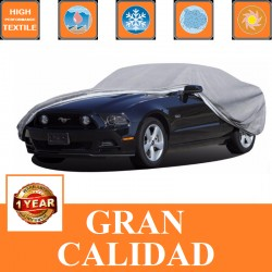 Funda Cubre Coche para Chevrolet KALOS, 3 y 5 Puertas, de 2002 a 2011. Ref. FCC01M. Leer más...