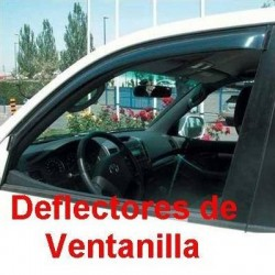 Deflectores de Ventanilla para Opel AGILA (B ), de 2000 a 2008. ADHESIVO EXTERIOR.