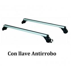 Juego de 2 barras Aluminio LONGPLAY ALU para VOLVO S60 (I), de 2002 a 2010. Ref: 109121085.