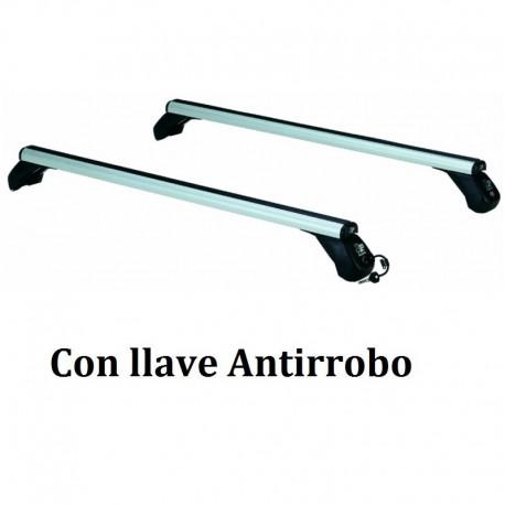 Juego de 2 barras Aluminio LONGPLAY ALU para ALFA ROMEO GIULIA, de 2016 en adelante. Ref