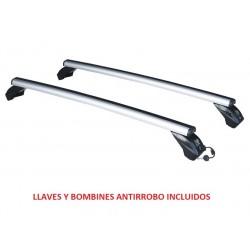 Juego de 2 Barras Aluminio LONGPLAY ALU para FORD ECOSPORT (II), de 2013 en adelante. Ref: 109111389N.
