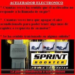 BDJ101 Acelerador electronico Sprint Booster. Facil Instalacion. Mejora la respuesta del motor cuando pisamos el acelerador. Mej