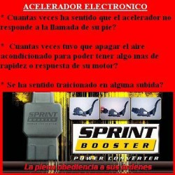 BDD152 Acelerador electronico Sprint Booster. Facil Instalacion. Mejora la respuesta del motor cuando pisamos el acelerador. Mej