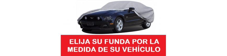 Funda exterior Automovil, SUV y 4X4 clasificadas por medidas.