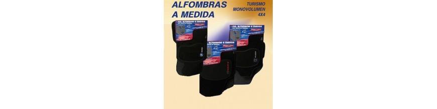 ALFOMBRAS PREMIUN NEGRAS 6 mm MAZDA