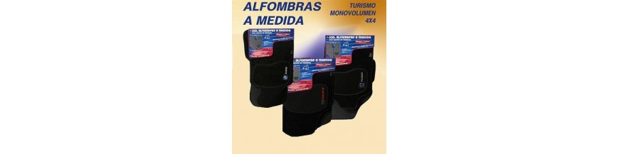 ALFOMBRAS PREMIUN NEGRAS 6 mm NISSAN