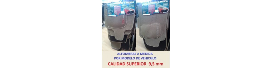 ALFOMBRAS PRIVILEGE BEIGE 9,5 mm KIA