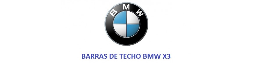 BARRAS DE TECHO BMW X3