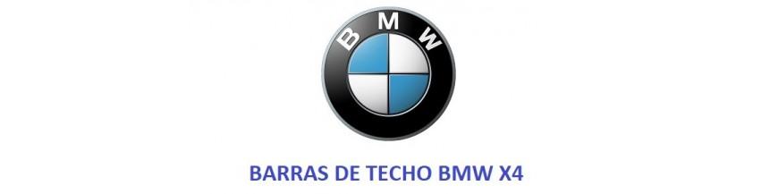 BARRAS DE TECHO BMW X4